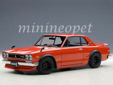 AUTOart 77444 NISSAN SKYLINE GT-R (KPGC10) TUNED VERSION 1/18 DIECAST RED