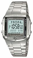 CASIO Digital Watch Stainless Silver DB-360-1AJF DATA BANK Men's JAPAN OFFICIAL