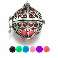Round Locket Pendant for Perfume Fragrance Aromatherapy Essential Oil Diffuser
