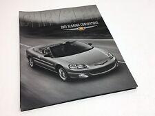 2001 Chrysler Sebring Convertible Brochure