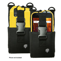 CAT S61 Case Nylon Heavy Duty Pouch and TPU Flex Skin Case by Wireless ProTech