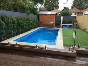 FRANKSPOOLS - Fibreglass Pools / Swimming Pools 6.2 x 3.0 mtr Slimline