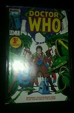Doctor Who #1 (Oct 1984, Marvel) vf 8.0 magazine Reprints British comic strip !!