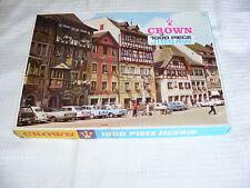 "Vintage Original ""Painted  Terrace"" Switzerland  Jigsaw Puzzel COMPLETE 1970's ?"