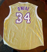 Majestic Shaquille O'Neal SHAQ 2001 NBA Finals LA Lakers Champions 2XL Jersey