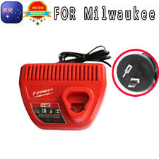 For Milwaukee Battery Charger 12V M12 Li-ion 4811-2410 C12 B C12IW C12ID drill