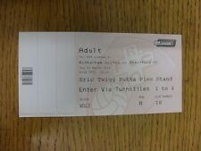 25/03/2014 Ticket: Rotherham United v Brentford [Complete Ticket] . Thanks for v