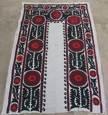 UZBEK SILK HAND EMBROIDERED SUZANI JOYPYSH # 8480