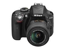 Nikon D D3300 24.2Mp Digital Slr Camera - Black (Kit w/ 18-55mm and 55-200mm.