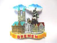 Bremen Roland Stadtmusikanten Rathaus Magnet Reise Souvenir Germany