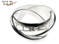 CARTIER OR AMOUR ET TRINITY BAGUE WHITE GOLD LIMITED-1998 RING 18K/750 WEISSGOLD