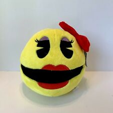 NEW Ms. Pac-Man Girl Video Game Soft Toy Factory Stuffed Plush
