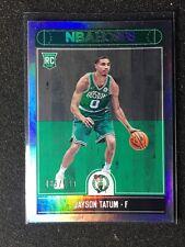 2017-18 Hoops Rookie Card Jayson Tatum RC Silver /199