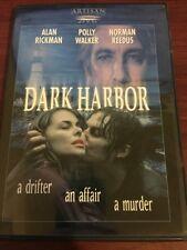 Dark Harbor DVD Alan Rickman Polly Walker Norman Reedus RARE OOP! VG w/ Insert!