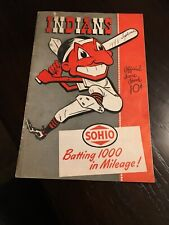 Cleveland Indians 1948 baseball Official 10 Cent scoring book neat nice shape