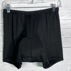 NEW Realtoo Cycling 3D Padded Black Shorts Underwear Men's Size L Breathable NWT