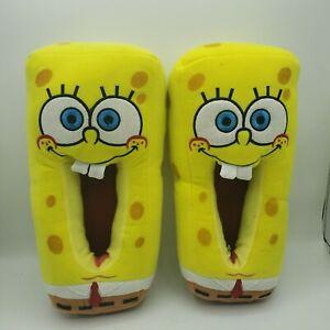 Spongebob Squarepants House Slippers Size Adult 9-10, 2003