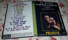 Al Bano & Romina Power - Felicita DVD, Special Fan Edition, Very good Disc!!