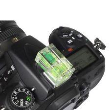 Zapata 2 Axis Doble Burbuja Espíritu Nivel de montaje en Flash para Cámara SLR DSLR Canon
