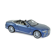 Norev 182785 Bentley Continental GTC Blue Metallic 2019 Scale 1:18 New !°