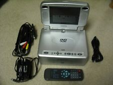New listing Audiovox Portable Dvd Player W/ Detachable Screen-Head Rest Mount,Remote & More!