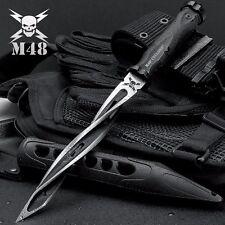 United Cutlery M48 Cyclone 3 Edge Tactical Spiral Spike/Knife w/Sheath UC3163