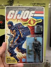 Gi Joe 1984 Cobra Firefly Mint Carded Lot A Beautiful Logo Green Phone And Gun