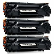 3 TONER COMPATIBILE PER HP LASERJET P1102 W M1130 M1132 M1136 M1210 CE 285A 85A