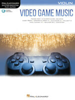 Video Game Music for Violin - Instrumental Play-Along Songbook w /Audio 283885