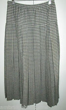 Vintage Alistair Buxton Melbourne Pleated Long Skirt Size 12 Made in Australia
