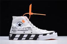 Converse x Virgil Abloh OFF-White High Top Men's Woen's Shoes US10