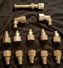 Koolance 3/8in x 1/2in watercooling fittings bundle