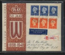Netherlands   Indies   first  day  cover    1948