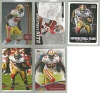 Patrick Willis San Francisco 49ers 5 card 2012 insert lot-all different