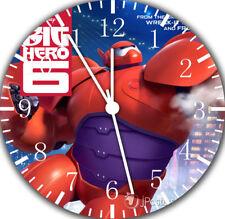 Disney Big Hero 6 Borderless Wall Clock for Home Office Wall Decor A501