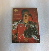 1999 Upper Deck PROGRAM OF EXCELLENCE Taylor Pyatt Team Canada Card! ROOKIE NM-M