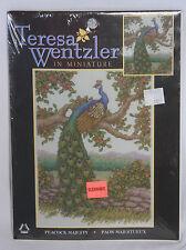Teresa Wentzler In Miniature Peacock Majesty Counted Cross Stitch Kit 1139-75