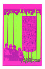 Yardbirds Handbill small 1968 Jul 13 Vancouver Canada Bob Masse