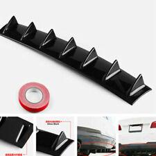 "7Fin 33 ""x 5"" ABS Auto SUV Hinten Shark Fin Curved Addon Stoßstange Lip Diffusor"
