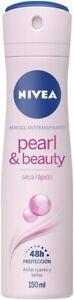 NIVEA Pearl & Beauty Anti-Perspirant Deodorant (150ml), 48hr Deodorant for Women