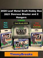 2020 Leaf Metal Draft & 2021 Donruss Baseball PYT LIVE CARD BREAK - 6 AUTOs