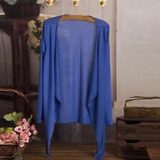 Summer Women Thin Cardigan Long Sleeve Sun Protection Clothing Tops Blouse Coat
