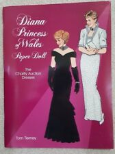 Princess Diana of wales paper doll the charity auction dresses NEW ~ Vintage