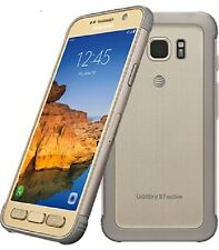 Openbox Samsung Galaxy S7 active SM-G891 32GB Sandy Gold (AT&T) Unlocked. New