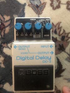BOSS DD2 Japan blue label