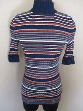 Style & Co Striped Core Fashion Sweater Mock Turteneck Medium M New