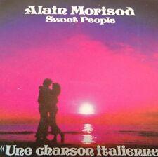 ALAIN MORISOD/SWEET PEOPLE Tape Cassette UNE CHANSON ITALIENNE 1984 KOSX5-199