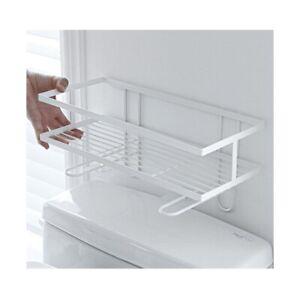 No Drilling Bathroom Shelf Organizer Over-The-Toilet Storage, Over Laundry Shelf