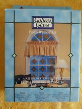 Plaid: Gallery Glass Complete Window Kit Create the look Stained Glass