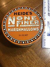 Heide's Marshmallows Tin Can